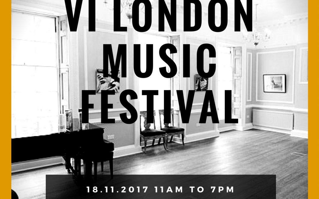 VI WKMT London Music Festival