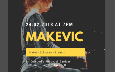 Makevic in Concert London 24.02.2018
