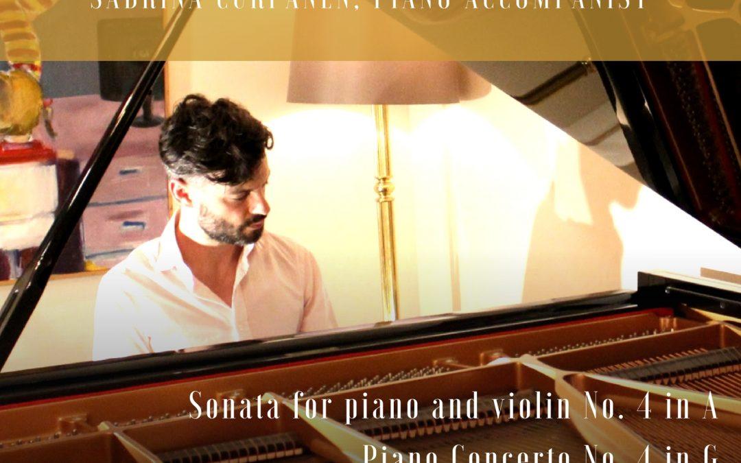 24.03.2018 Juan Rezzuto performs Haydn